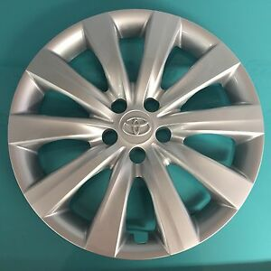 16 Hubcap Wheelcover Fits 2011 2012 2013 Toyota Corolla