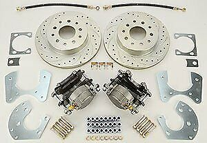 Right Stuff Zdcdsm1 Ford 9 Rear Disc Brake Conversion Kit