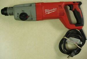Milwaukee 5262 21 8 Amp Corded 120v 1 Sds Plus Rotary Hammer Drill Tool Only