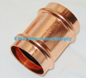 2 Propress Copper Coupling No Stop Lead Free