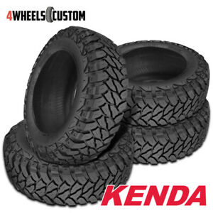 4 X New Kenda Klever M t Kr29 265x75x16 123x120q High Off road Traction Tire