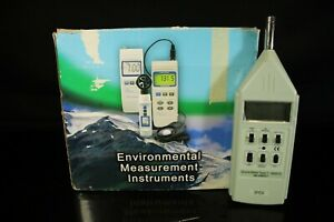 Sound Level Meter type 1 0 7 Db Measurement Sper Scientific 840015