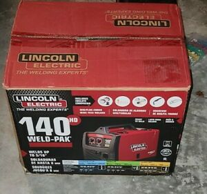 Lincoln Electric 140 Hd Weld pak 110 Welder K2514 1 Mig Wire Feed