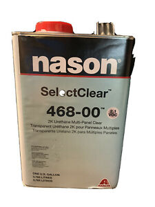1 Gallon Nason Selectclear 468 00 2k Urethane Multi Panel Clear Coat