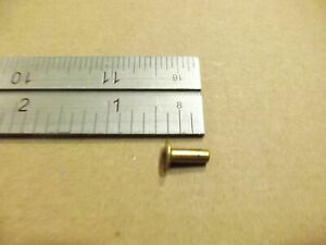 6 16 Solid Brass Tubular Rivets pack Of 250