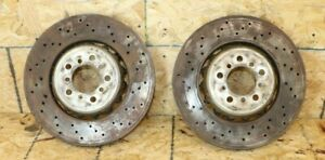 Front Rear Big Brake Ventilated Rotors Discs Oem Bmw F80 F82 For Brembo M