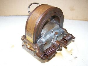 Old Webster L 3 Bar Hit Miss Gas Engine Magneto Oiler Steam Tractor Ignitor Hot