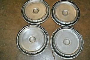1971 72 73 Ford Mustang 14in Hub Caps Vintage Wheel Cover