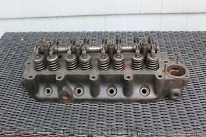 Mg 1966 Engine Head 18 Mowog 12h 1326 Patent 565394 Spring Assembly See Pics