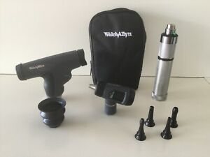 Welch Allyn Diagnostic Set 97150 mpc W Panoptic 11810 Macroview 23810