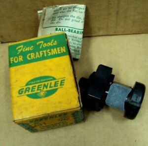 Greenlee Tool Co Usa No 731 Size 3 4 Radio Chassis Punch Square