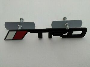 2x Trd Chrome Metal Badge Grille tape Emblem Rally Style