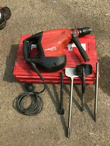 Hilti Te 70 Corded Hammer Drill With 4 Bits