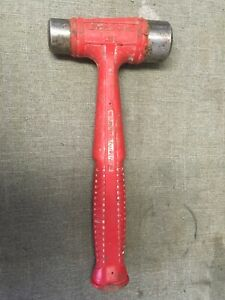 Snap On Hssd32 32oz Dual face Drilling Dead Blow Red Hammer