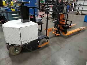 2015 Tci Mobility Tugger W Pallet Jack Charger Spare Battery Pack Etc