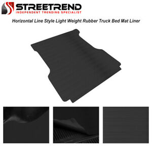 For 2015 2021 Colorado canyon 5 Ft 60 Rubber Truck Bed Trunk Floor Mat Liner V2
