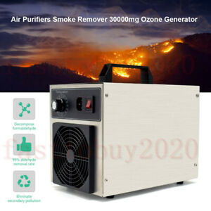 Ozone Generator 30000mg h Ozone O3 Air Purifier For Odors Home Large Room 220v