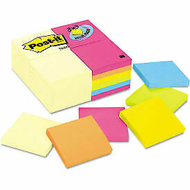 Post it Notes 3x3 654cyp24va 3 X 3 Canary capetown 100 Sheets 24 pack