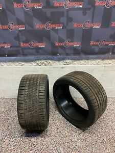 285 35 19 Michelin Pilot Sport A S 3 Used Tires Pair Two 9 32