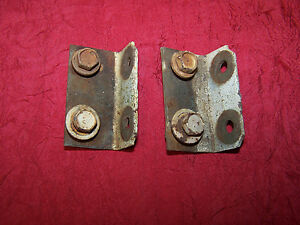 Mopar 65 Belvedere Hood Latch Panel To Fender Brackets 1965 Satellite