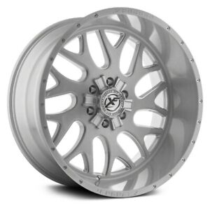 20 Xf Flow Forged Xfx 301 Brushed Milled Wheels Qty 4