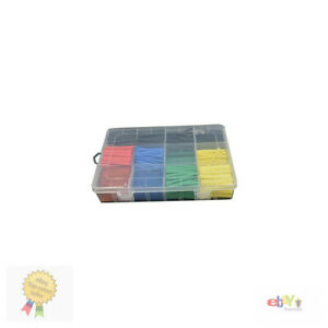 Heat Shrink Tubing Set Wire Wrap Assortment Electrical Connection Cable 530 Pcs
