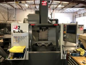 2014 Haas Vf 2 Cnc Vertical Machining Center W 10k Spindle Renishaw Probe