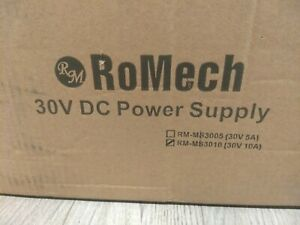 Romech 30v 10a Dc Power Supply Variable Adjustable Switching Dc