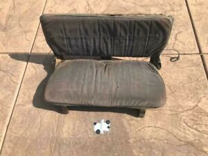 Suzuki Samurai Oem Metal Back Seat basically A Frame But Usable For Offroading
