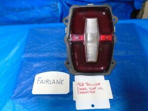 1968 Ford Fairlane Torino Formal Roof And Convertible Tail Light
