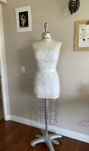 Pro Female Half Body Dress Form With Collapsible Shoulders Size 8