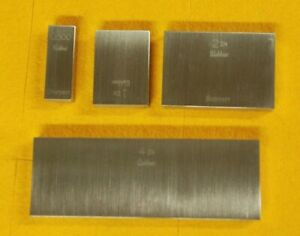 Starrett Webber Gauge Blocks Grade A1 Blocks 4 2 1 And 1 2 New Old Stock