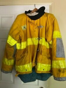 Morning Pride Firefighter Turnout Coat Size 40 Chest 35 Length 33 Sleeve Used