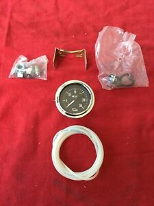 Vintage Sun Engine Vacuum Gauge Hot Rod Rat Rod Gasser Muscle Car 2 1 16
