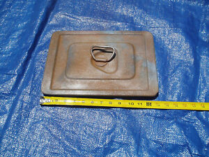 1954 Lincoln Batterycover 1955 Battery Cover