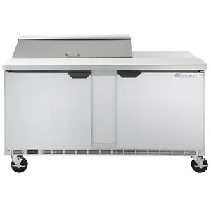 Beverage Air Spe60 10 60 Refrigerated Sandwich Salad Prep Table