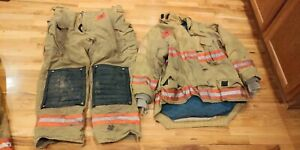 Tan Morning Pride Turnout Gear 48 Coat 44 Pants