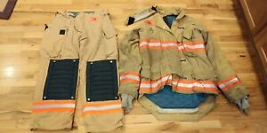 Tan Morning Pride Turnout Gear 38 Coat 32 Pants