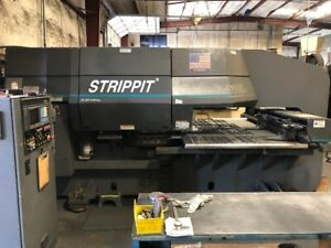 33 Ton Strippit 1000h 30 Cnc Turret Punch W Tooling