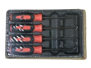 New Snap On Tools Mini Soft Grip Pic 4 Pieces Set Sgasa204co