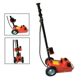 22 Ton Air Hydraulic Bottle Floor Jack Truck Cars Repair Lifting Tool Red Bs