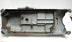 Singer Oil Pan With Knee Lifter Assembly For Industrial Sewing Machine Used