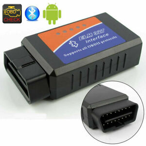 V2 1 Bluetooth Elm327 Obd2 Obdii Car Engine Diagnostic Scanner Code Reader Tool