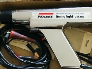 Sears Penske Power Timing Light Model 244 2115 Manual Box 6 Or 12 Volt