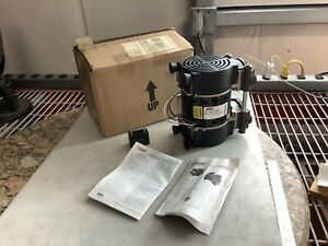 Gast 72r645 v114 d303x Twin Cylinder Rocking Piston Pump 115v 5 3a 1 3hp 777