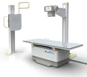 Used 2016 digital Floor Mounted X ray System With 17x17 Dr Panel