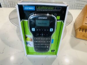 Dymo Label Manager 160 Handheld Label Maker With Extra Roll Of D1 Labeling Tape
