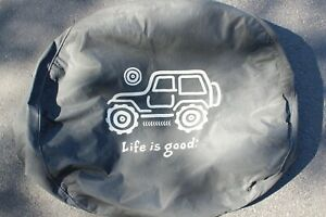 Life Is Good Jeep Wrangler Wheel Tire Cover