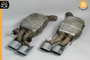 Mercedes W216 Cl63 S63 Amg Exhaust Muffler Mufflers Right Left Oem