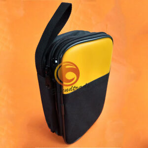 Double Layer Zipper Carrying Case Fluke Multimeters 115 116 117 175 18b 17b 15b